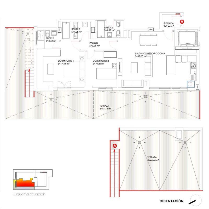 Construciones Rodríguez - Propiedades: Ático A